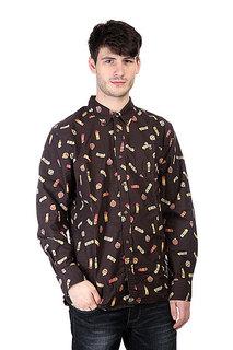 Рубашка Burton Mb Farrel Wvn Ls Canteen Print