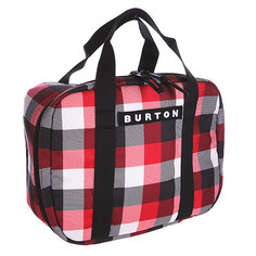 Сумка Burton Lunch Box Buffalo Plaid Crimson Dark Grey
