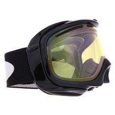 Маска для сноуборда Oakley Elevate Jet Black/Yellow