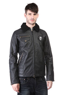 Куртка кожаная Burton Twc Signature Jkt True Black