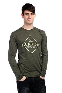 Лонгслив Burton Mb Skidder Ls Rpet Rifle Green Heather
