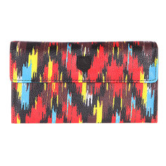 Кошелек женский Burton Wb Tri Fold Wallet Ikat Stripe