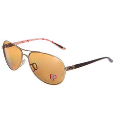 Очки женские Oakley Feedback Polished Gold/Bronze Polarized