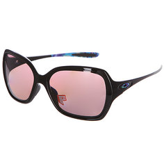 Очки женские Oakley Overtime Polished Black /Oo Grey Polarized