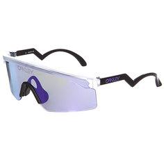 Очки Oakley Razor Blades Matte Clear / Violet Iridium