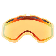 Линза для маски Oakley Repl. Lens Twisted Dual Vented/Fire Iridium