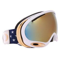 Маска для сноуборда Oakley Aframe 2.0 Lindsey Vonn Stars And Stripes 24k Iridium