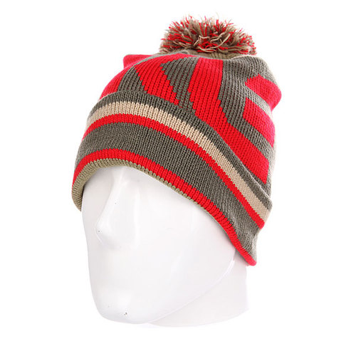 Шапка Oakley Factory Winter Beanie Red Line