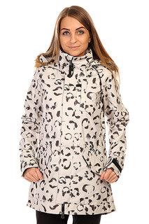 Куртка женская Burton Twc Wanderlust Jk St White Snow Leopard