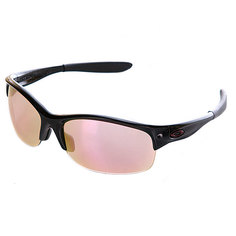 Очки женские Oakley Commit Sq Metallic Black /Pink Iridium