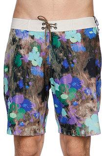 Пляжные мужские шорты Analog Flores Brdshort Blue