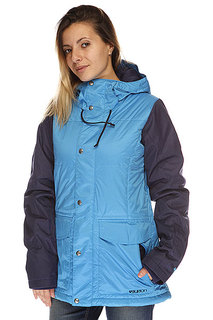 Куртка женская Burton Snuglmufin Jacket Blue Ray Hesher