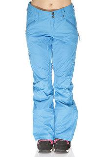 Штаны сноубордические женские Burton High Pants Blueray