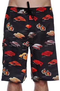 Пляжные мужские шорты Analog Cmbt Sushi3 Brdshort True Black