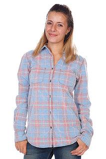 Рубашка в клетку женская Roxy Sky High Hibiscus
