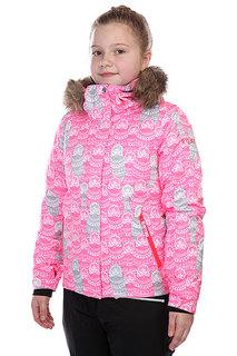 Куртка детская Roxy Jet Ski Girl Jk Diva Pink