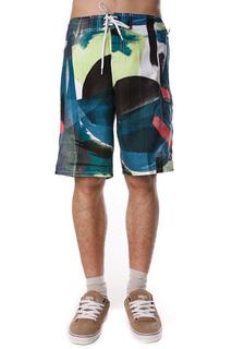 Пляжные мужские шорты Ezekiel Painterra Boardie Blue