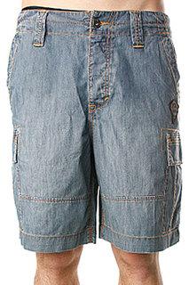 Джинсовые мужские шорты Quiksilver Kinney Stone Grey Aspen Gold
