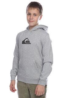 Толстовка детская детская Quiksilver Hood Rib logo Grey