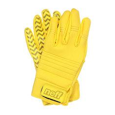 Перчатки сноубордические Neff Daily Pipe Yellow