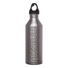 Бутылка для воды Mizu M8 800ml Stainless Black Print