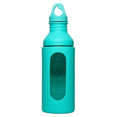 Бутылка для воды Mizu G7 700ml Glass Bottle Mint W Loop Cap