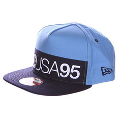 Бейсболка DC Division Hat Heritage Blue