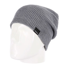 Шапка Nixon Compass Beanie Charcoal Heather
