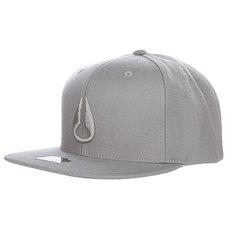 Бейсболка Nixon Nolan Starter Hat Gray/Gray