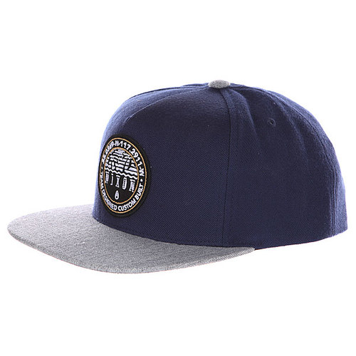 Бейсболка Nixon Sea Breeze Snap Back Hat Navy/Gray