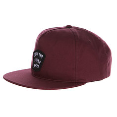 Бейсболка Quiksilver Ritual Hats Plum Perfect