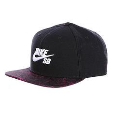 Бейсболка Nike Sb Seasonal Snapback Cap Black/Purple
