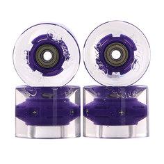Колеса для скейтборда для лонгборда Sunset Cruiser Wheel With Abec9 Blacklight 78A 59 mm