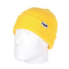 Шапка носок Neff Fold Neon/Yellow