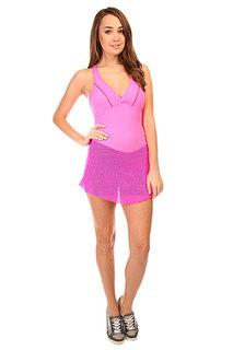 Комбинезон для фитнеса женский CajuBrasil Trend Suit Jump Pink