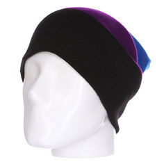 Шапка носок Shweyka Trio Beanie Blue/Violet/Black