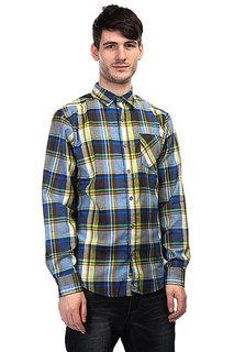 Рубашка в клетку Marmot Doheny Flannel Peak Blue