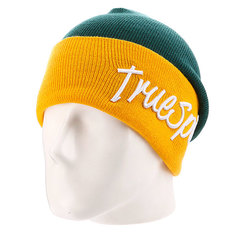 Шапка True Spin Stay True 2 Tone Green/Yellow
