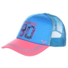 Бейсболка женская Roxy Truckin Hats Blue Aster