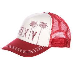 Бейсболка женская Roxy Truckin Hats Deep Red