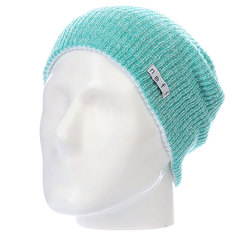 Шапка Neff Daily Reversible Teal/White Heat/White