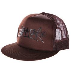 Бейсболка с сеткой Anteater Trucker brown