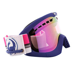 Маска Dragon DXS Frame Nautical Lens Pink Ionized + Rose