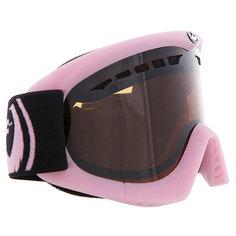 Маска для сноуборда женская Dragon Snow Dxs Pop Pink Jet Amber