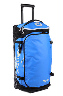 Сумка дорожная Marmot Rolling Hauler Medium 80l Cobalt Blue Black