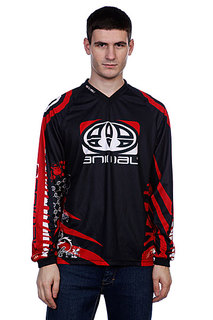 Лонгслив Animal Team Rider Jersey Black/Red