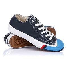 Кеды кроссовки низкие Keds Court King Leather Navy/Blue