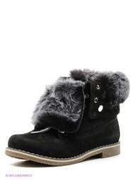Черные Ботинки WAYKO