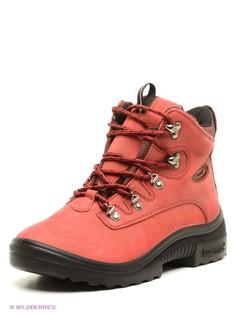Красные Ботинки KUOMA