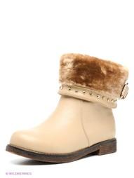 Бежевые Ботинки Mario Ponti